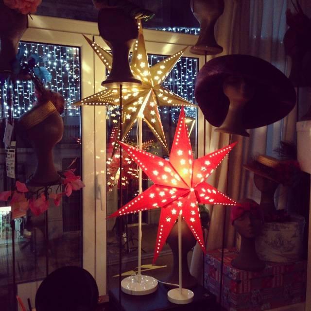 Navidad-tousette-Estrellas luz