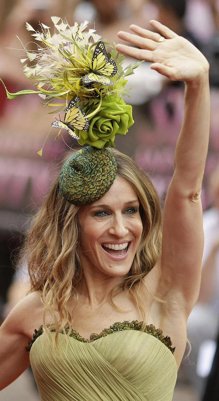 US actress Sarah Jessica Parker arrives