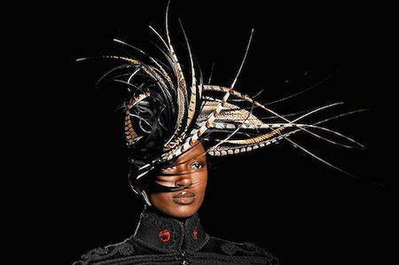 Philip Treacy Catwalk