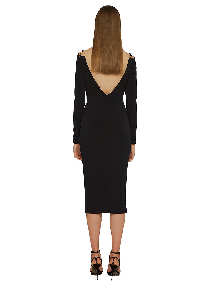 vestido lyra espalda