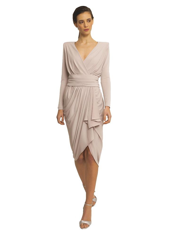 vestido claudia en nude