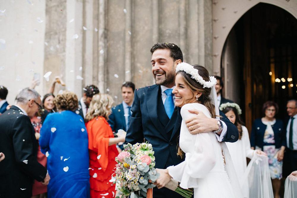 detalle ramo boda blanca
