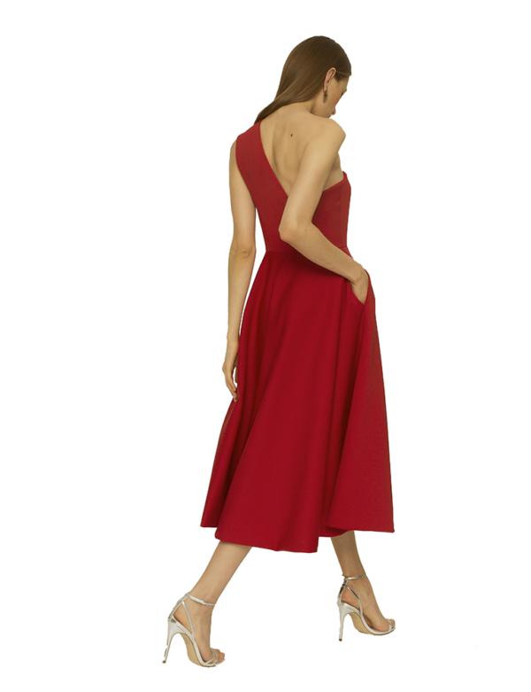vestido neopreno colournude