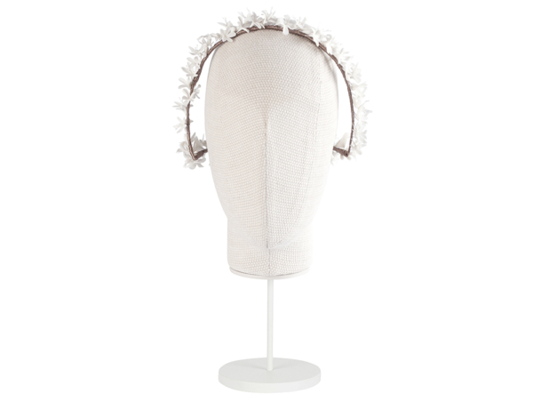 vista frontal corona porcelana marta