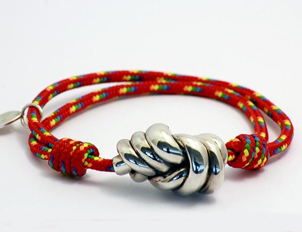 pulsera nudo roja