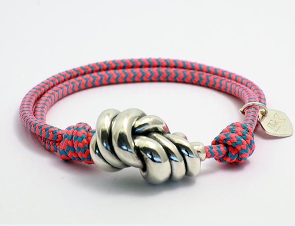 pulsera colores cuerda