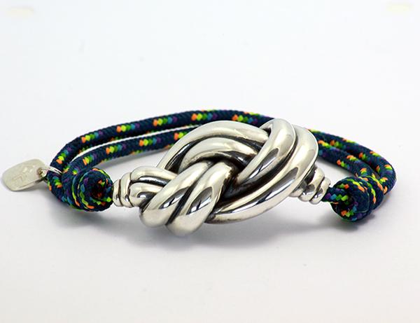 pulsera cuerda verde