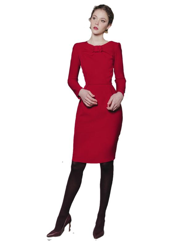 Vestido Claire Rojo