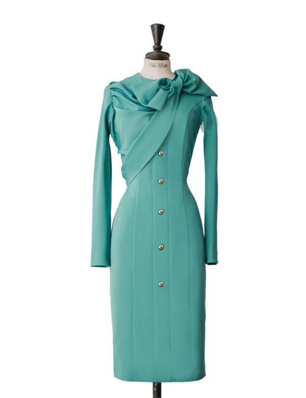 vestido Soleil verde
